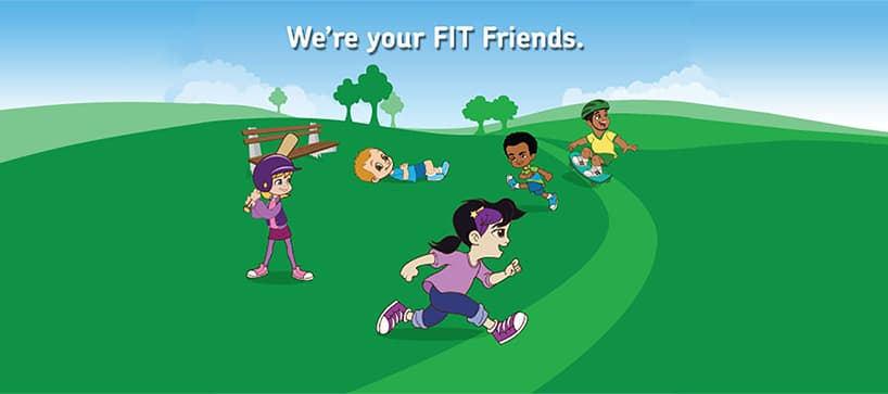 fit friends kids