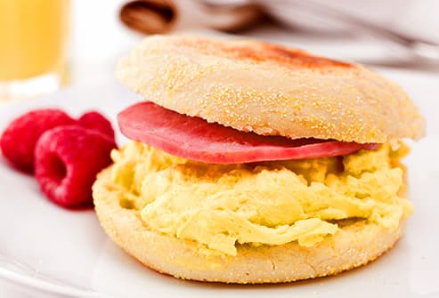 ham and egg muffin