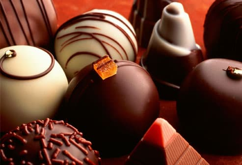 Assortment of Chocolate Truffles