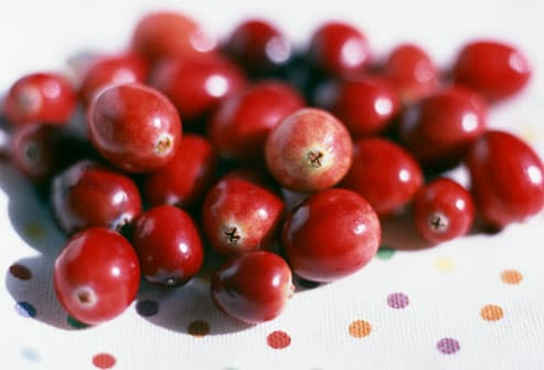 Pile of Cranberries