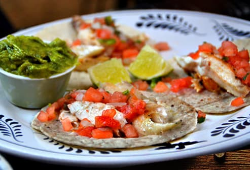 Fish Tortillas