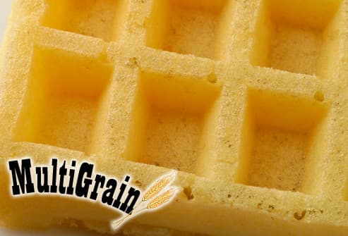Close Up of  Multigrain Waffle