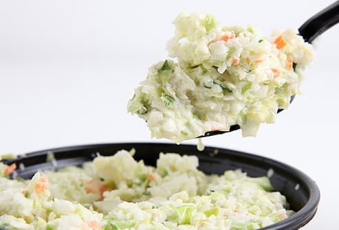 Spoonful of Cole Slaw