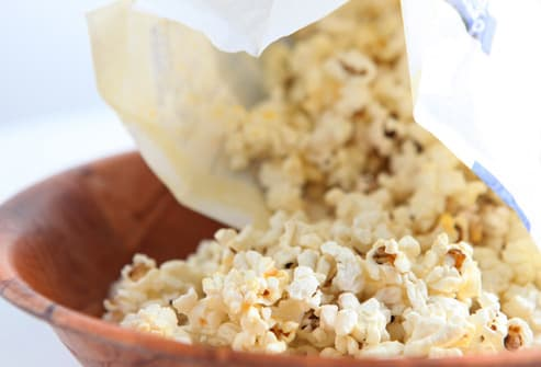 Low Fat Microwave Popcorn 60