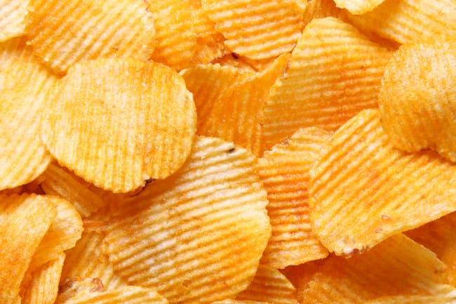 photo of potato chips
