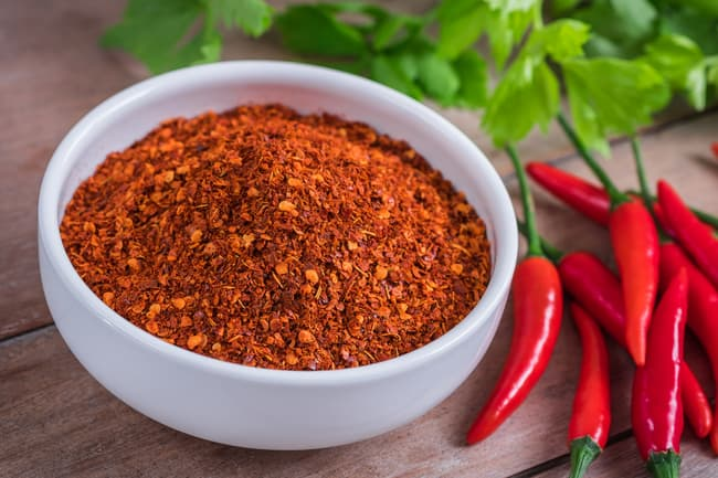 photo of cayenne pepper