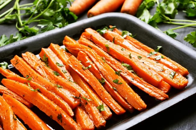photo of roasted carrots