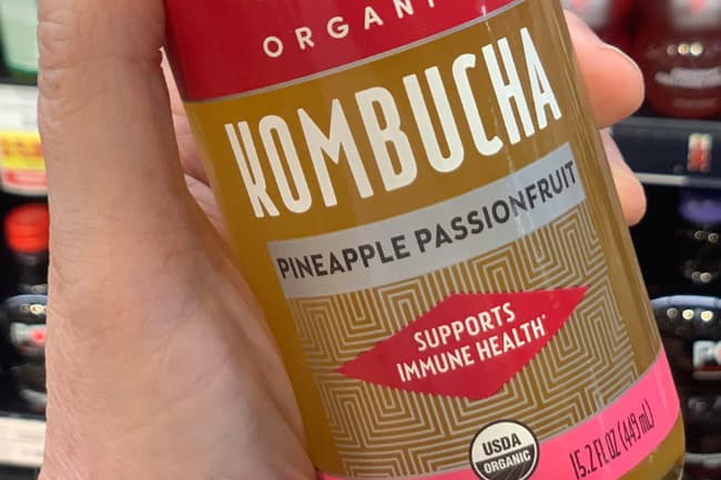 photo of kombucha tea