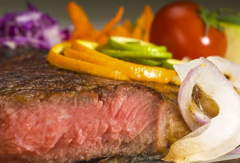 Lean Steak With Vegetables