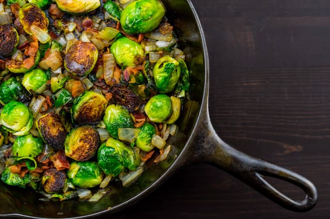 photo of brussels sprouts