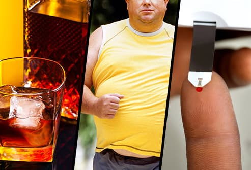alchohol obesity diabetes triptych