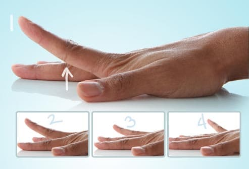finger lift exercises
