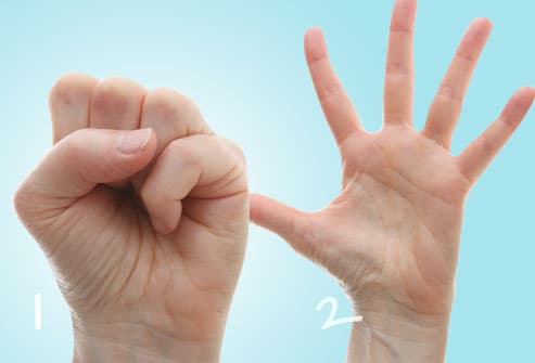 fist stretch exercise