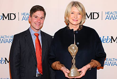 brent ridge with martha stewart