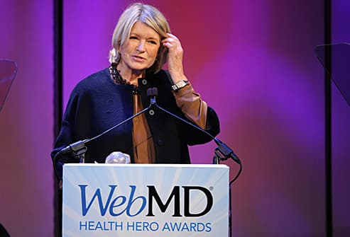 martha stewart received award