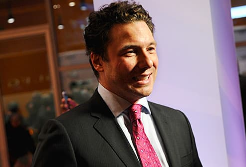 rocco dispirito on red carpet