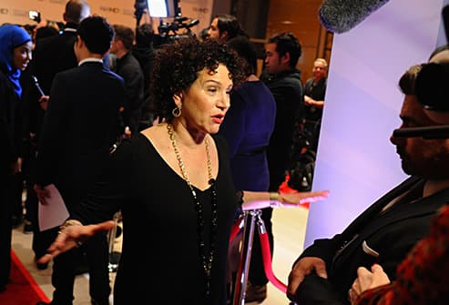 susie essman on red carpet