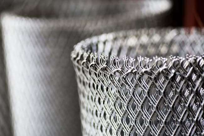 photo of wire mesh