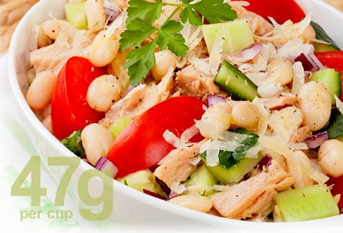 Navy Bean salad