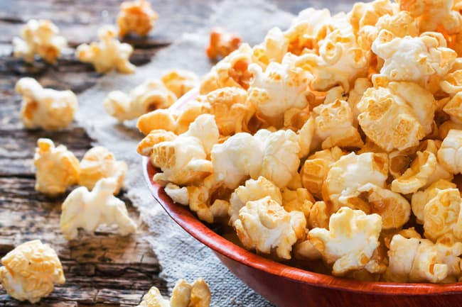 sweetened popcorn