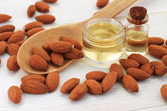 photo of almond oil