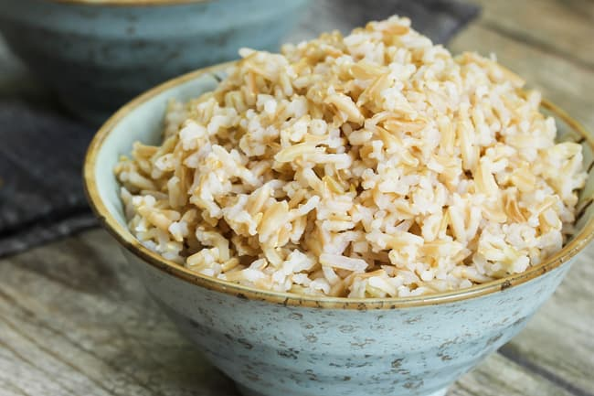 photo of brown rice