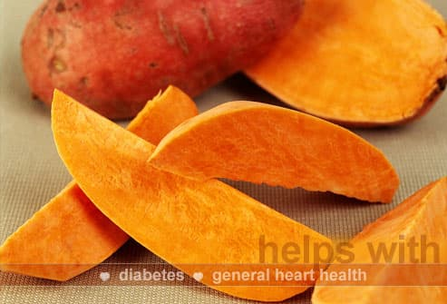 Uncooked Sweet Potato