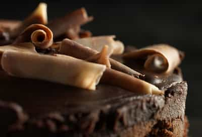 Close up of Chocolate Cake