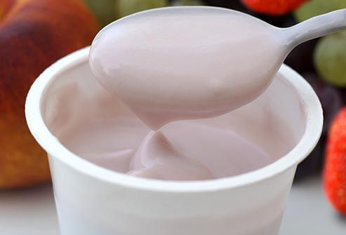 fruit flavored yogurt
