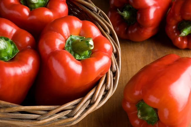 photo of red pepper