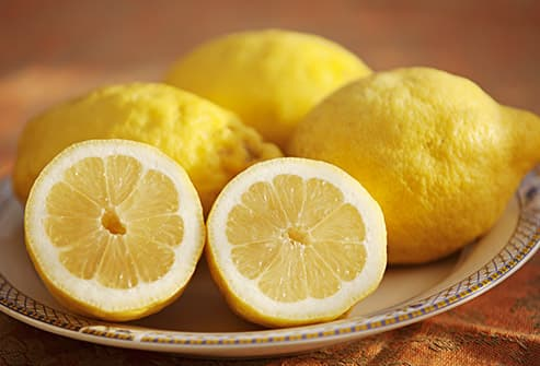 lemon halves