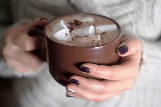 photo of hot cocoa
