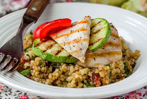 chicken quinoa and squash