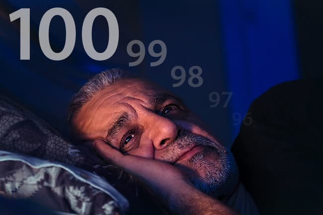 photo of man counting down