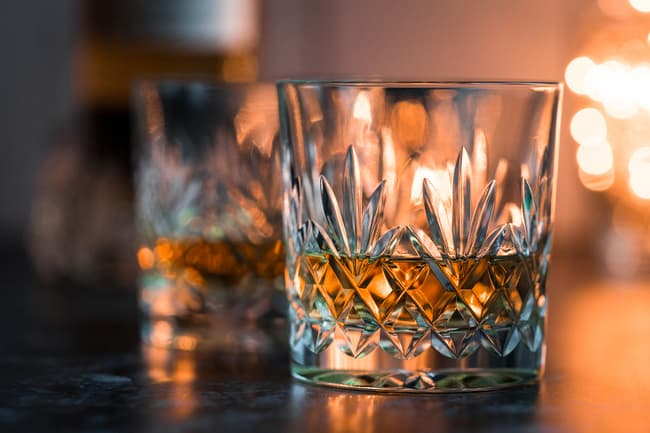 photo of whiskey in glasses