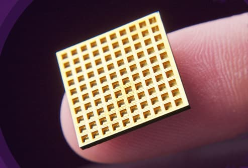 Microchips Rm Photo Of Implantable Meds Delivery Chip