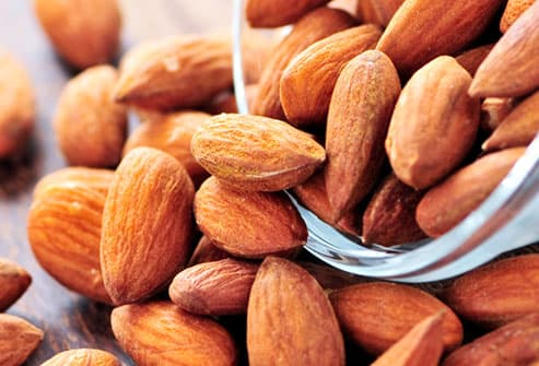 Almonds Are a Good Source of Calcium