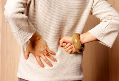 Woman With Kidney Pain
