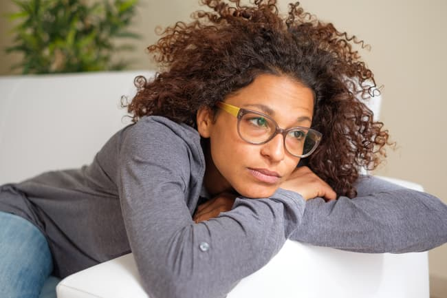 photo of tired woman