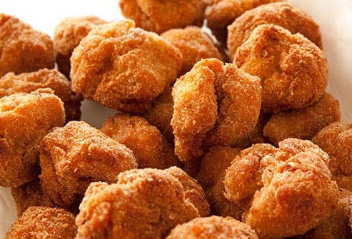 chicken nuggets