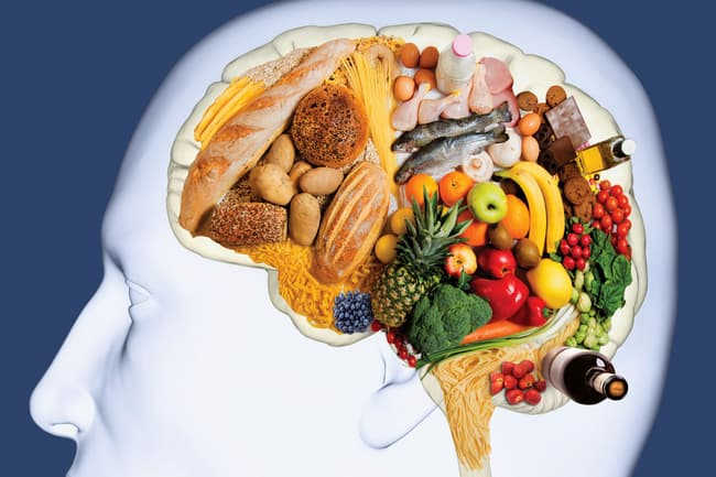 photo of mind diet concept