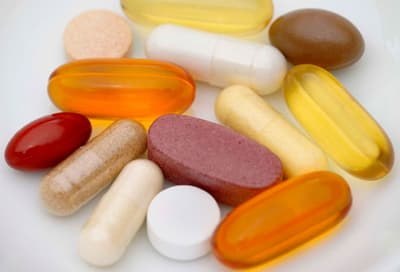 Vitamin Pills and Capsules