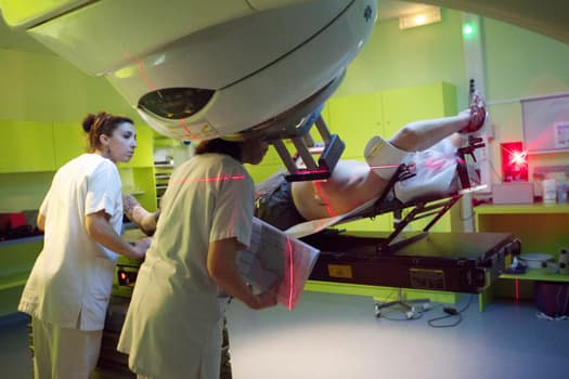 photo of radiation therapy