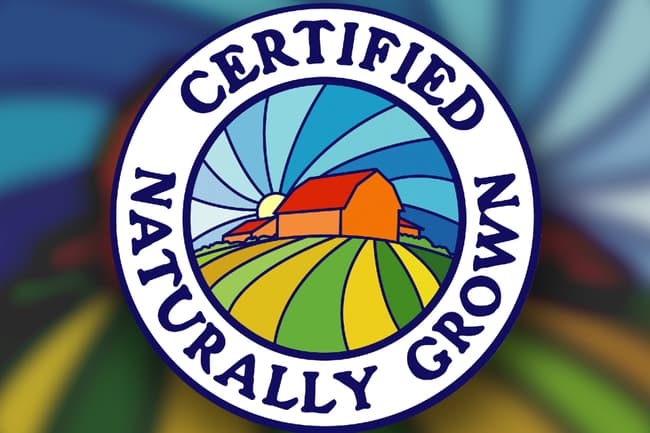 photo of certified naturally grown mark