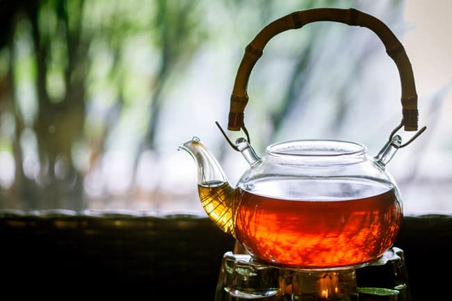 photo of hot pot of tea