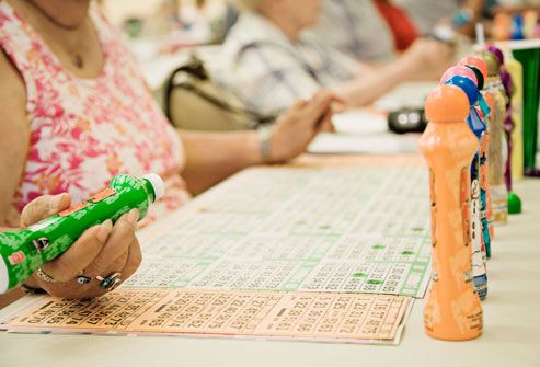 People Playing Bingo