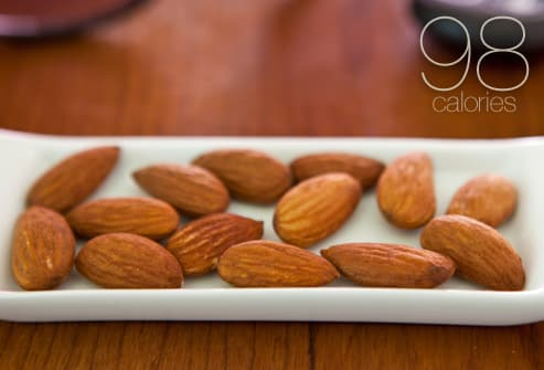 Healthy almond snack