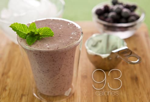 Healthy smoothie snack