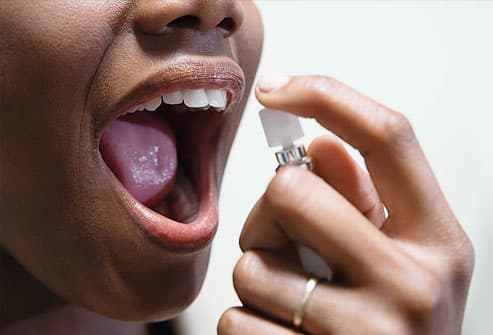 Treating bad breath (also called halitosis).