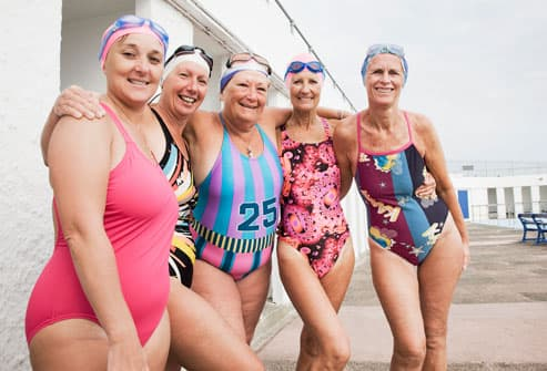 Older Women In Swimsuits